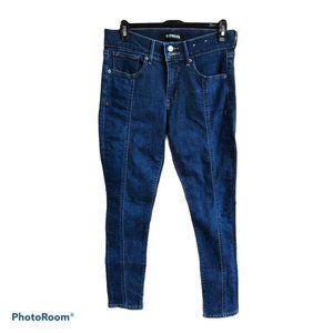 EXPRESS Pin Tuck skinny jeans sz.6R